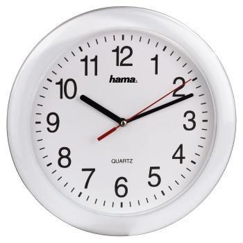 Настенные часы HAMA PP-250 H-113921, аналоговые,  белый