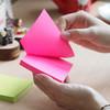 Блок самоклеящийся бумажный Stick`n 21163 51x76мм 100лист. 70г/м2 неон зеленый вид 5
