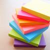 Блок самоклеящийся бумажный Stick`n 21166 76x76мм 100лист. 70г/м2 неон розовый вид 3