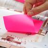 Блок самоклеящийся бумажный Stick`n 21213 76x127мм 100лист. 70г/м2 неон голубой вид 2