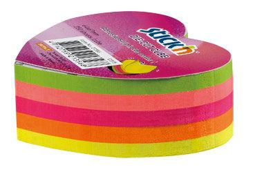 Блок самоклеящийся бумажный Stick`n 21356 64x67мм 250лист. 70г/м2 неон 5цв.в упак. вырубной