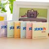 Блок самоклеящийся бумажный Stick`n 21403 76x76мм 100лист. 70г/м2 пастель сиреневый вид 2