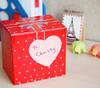 """Блок самоклеящийся бумажный Stick`n 21448 70x70мм 50лист. 70г/м2 неон розовый вырубной """"сердце"""" евро вид 4"""