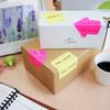 Блок самоклеящийся бумажный Stick`n 21541 70x70мм 50лист. 70г/м2 неон желтый вырубной клей по периме вид 3