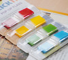 Закладки самокл. индексы пластиковые Stick`n 26020 12x45мм 4цв.в упак. 35лист Z-сложение с цветным к вид 3