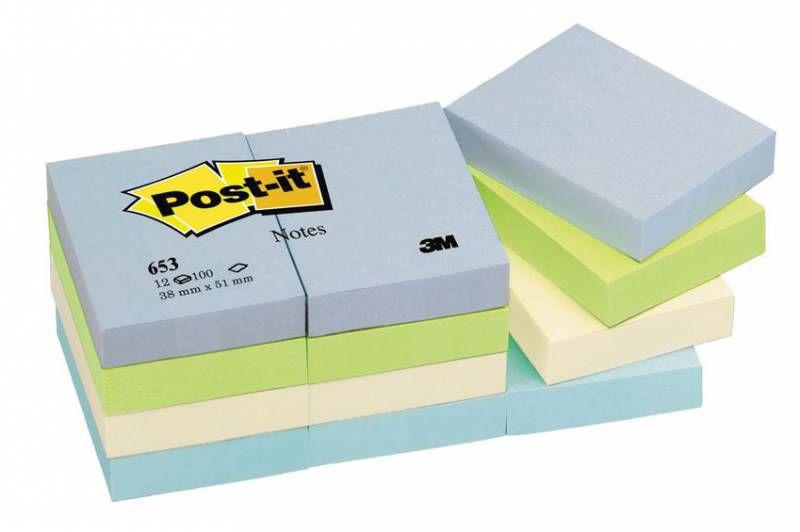 Бумага для заметок 3M Post-it 653-ML Гармония баланса,  1200лист.,  без разлиновки,  разный цвет листов [7000033970]