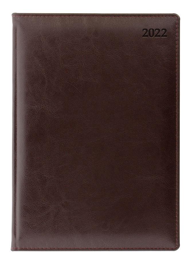 Ежедневник LETTS GLOBAL DELUXE IBIZA,  A5,  кремовые страницы,  кожа натуральная,  бургунди,  1 шт