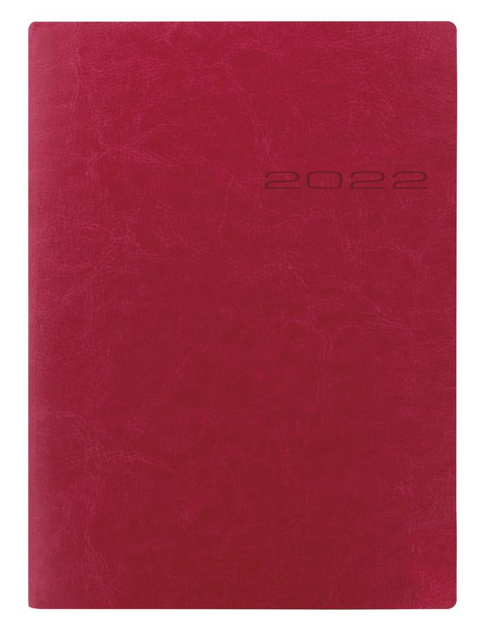 Ежедневник LETTS LECASSA,  A5,  кремовые страницы,  кожа искусственная,  розовый,  1 шт