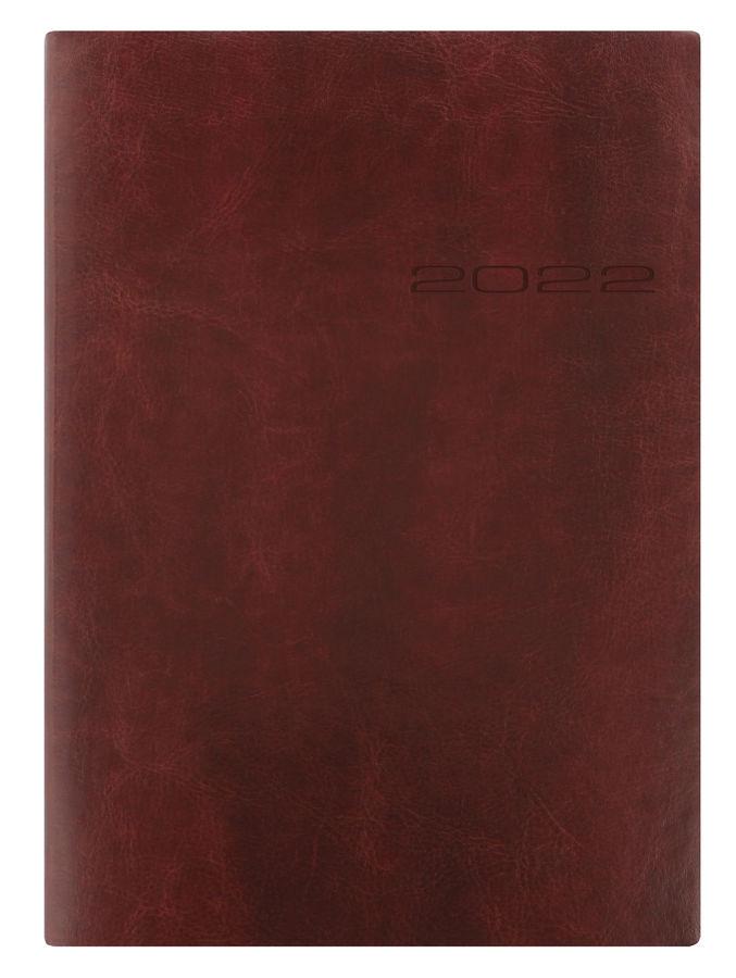 Ежедневник LETTS LECASSA,  A5,  кремовые страницы,  кожа искусственная,  коричневый,  1 шт