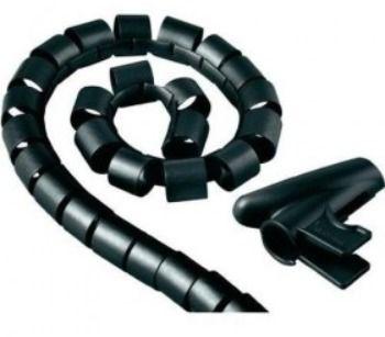 Кабельный органайзер Hama H-20603 (00020603) 1.5m black