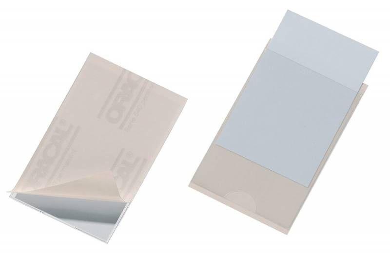 Карман самоклеющийся Durable Pocketfix 807919 57х90мм (упак.:10шт)