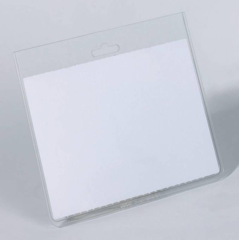 Бейдж Durable 8135-19 60х90мм горизонт. без крепления ПВХ прозрачный (упак.:20шт)