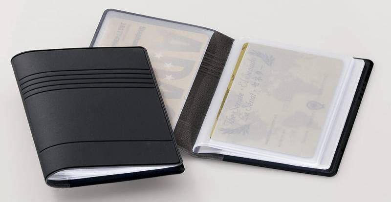 Футляр для кредиток DURABLE 2394-58 10 карточек,  темно-серый