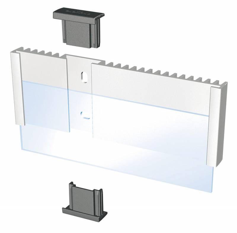 Информационная табличка DURABLE INFO SIGN настенная/дверная,  прямоугольная,  149х52.5 мм,  серебристый [4800-23]