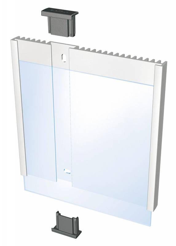 Информационная табличка DURABLE INFO SIGN настенная/дверная,  квадратная,  149х148.5 мм [4802-23]