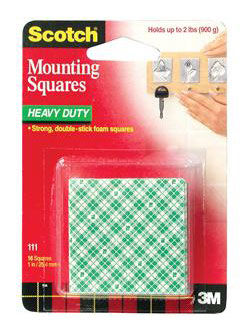 Монтажные квадраты 3M Scotch 111 7000028845