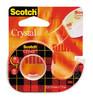 Диспенсер для клейкой ленты 3M Scotch 6-1975D 7000038137 кристально-прозрачная шир.19мм дл.7.5м вид 1