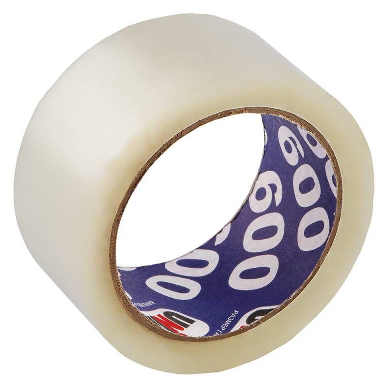 Клейкая лента упаковочная Unibob UNIBOB600 41161 прозрачная шир.50мм дл.66м 45мкр