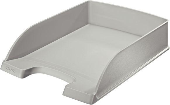 Лоток горизонтальный Esselte 52270085 Leitz A4 242x330x60мм серый пластик