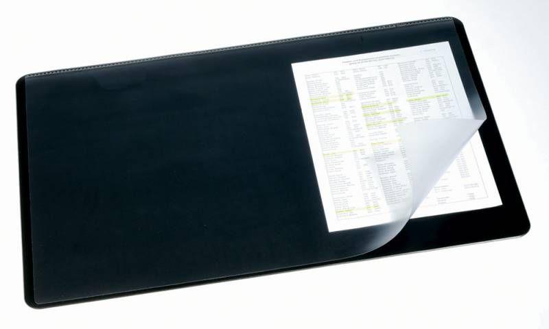 Настольное покрытие Durable (7202-10) 53x40см серый нескользящая основа прозрачный верхний слой