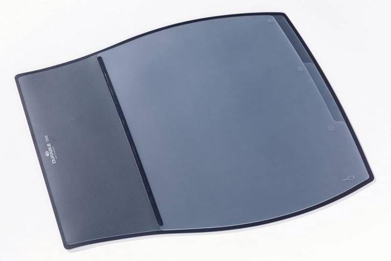 Настольное покрытие Durable Desk Pad (7209-01) 39х44см черный эргономичная форма нескользящая основа