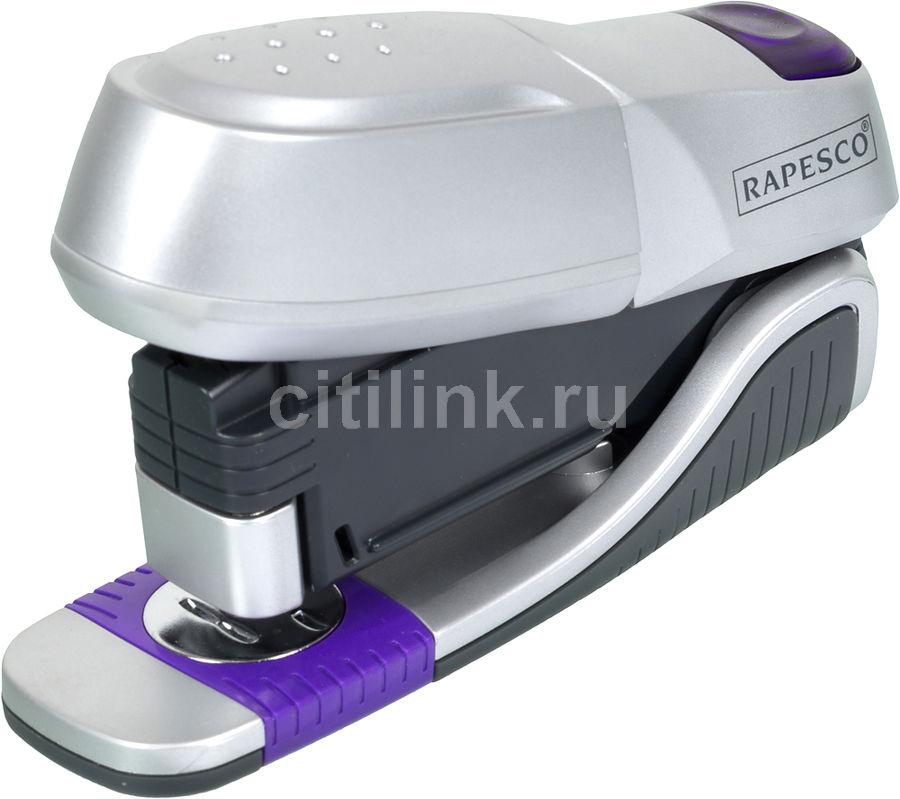 Степлер настольный Rapesco 0817 X5-20h 24/6 26/6 (20листов) серебристый