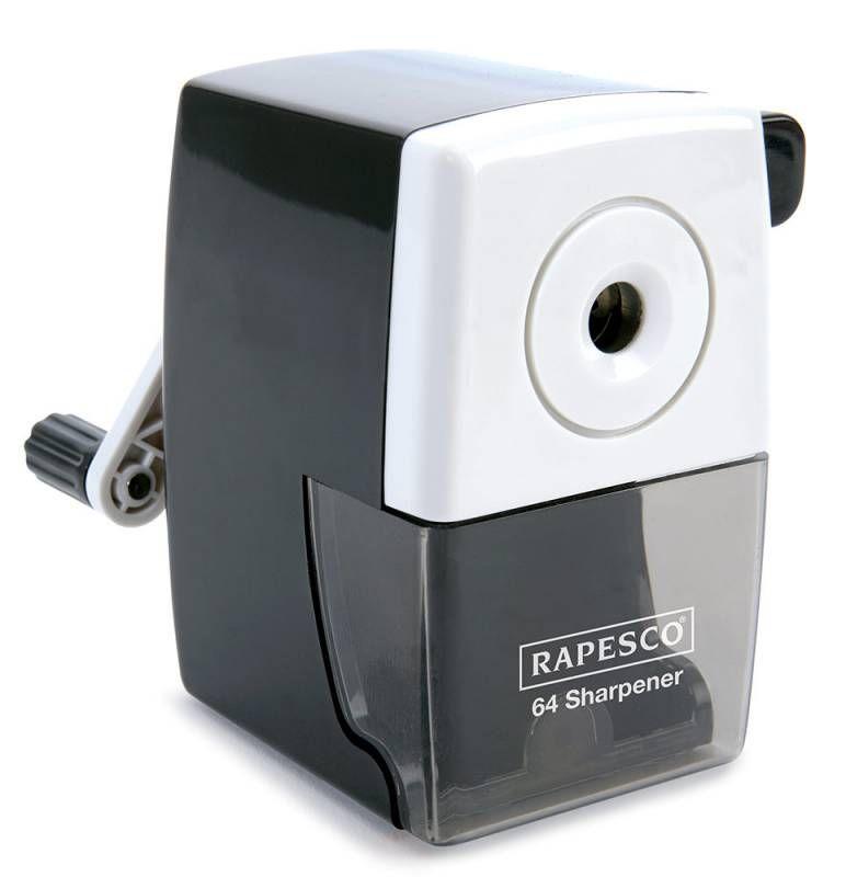 Точилка для карандашей RAPESCO R64000B2  механическая,  черный