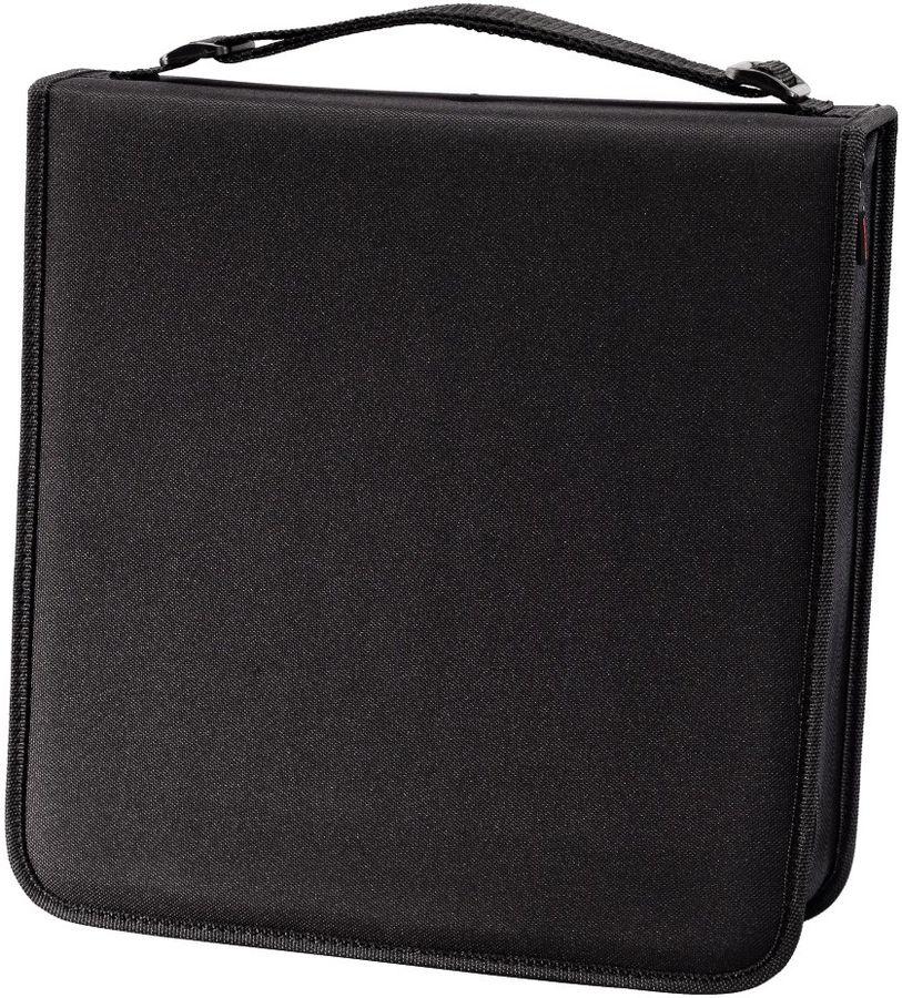 Портмоне HAMA H-12046, черный, для 192 дисков [00012046]