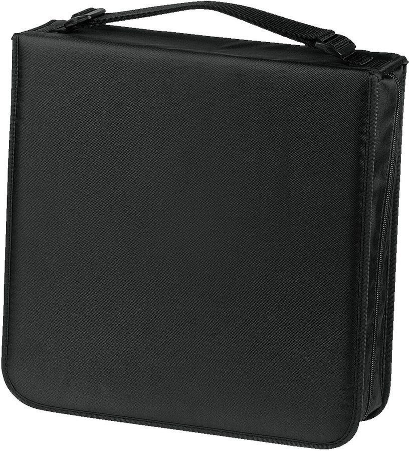 Портмоне HAMA H-33835, черный, для 208 дисков [00033835]