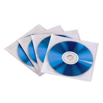 Конверт HAMA H-49993, 10шт., прозрачный+белый [00049993]
