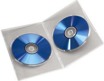 Коробка Hama для DVD Slim 25 шт. пластик черный H-51182