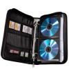 Портмоне HAMA H-84145 Office, черный+синий, для 64 дисков [00084145] вид 2