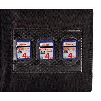 Портмоне HAMA Ready for Business H-95606, черный, для 24 дисков [00095606]