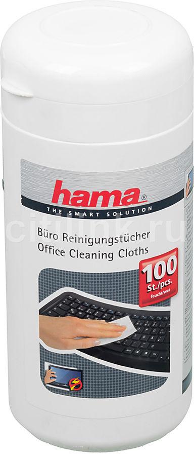Влажные салфетки HAMA H-42210, 100 шт. [00042210]