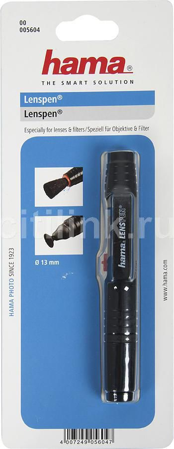 Чистящий карандаш HAMA Lenspen , черный [00005604]