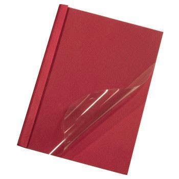 Термообложка HAMA H-52681,  A4,  6мм,  100,  красный
