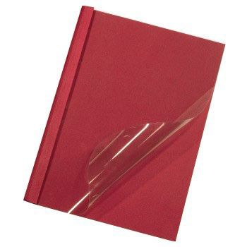 Термообложка HAMA H-52687,  A4,  20мм,  50,  красный