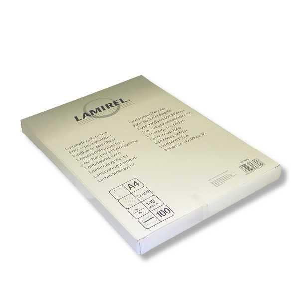Пленка для ламинирования FELLOWES Lamirel,  100мкм,  100шт.,  глянцевая,  A4