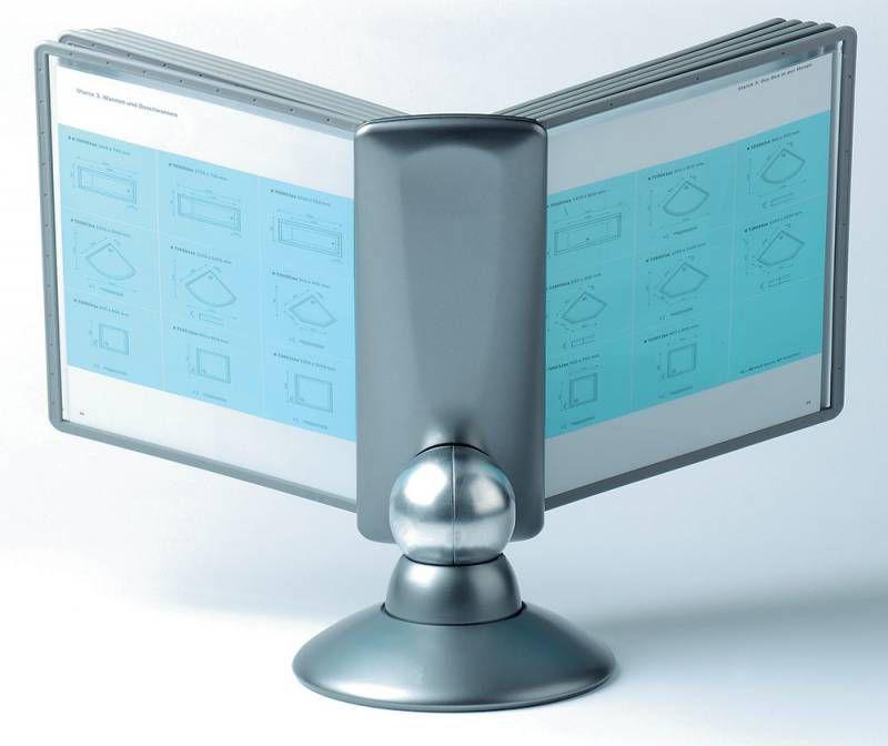 Дисплейная система Durable Sherpa Motion 5587-37 настольная модуль/10 панелей