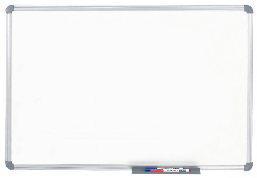 Демонстрационная доска Hebel Maul Office 6266084 магнитно-маркерная лак 60x90см алюминиевая рама сер