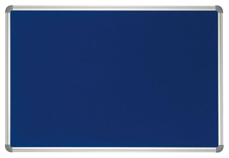 Доска Hebel Maul Office 90x120 см с текстильным покрытием алюминиевая рама синий [6279135sru]