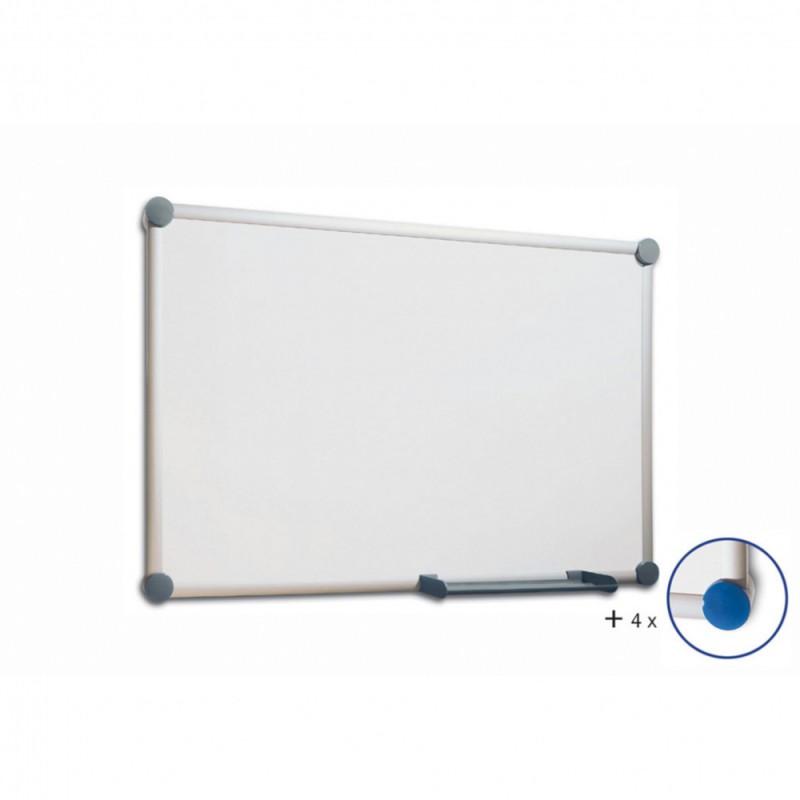 Демонстрационная доска Hebel Maul Whiteboard 2000 6305384 магнитно-маркерная лак 120x240см алюминиев