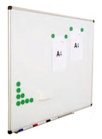 Демонстрационная доска Rocada 6504 магнитно-маркерная эмаль 90x120см алюминиевая рама