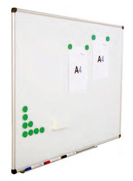 Демонстрационная доска Rocada 6510 магнитно-маркерная эмаль 100x200см алюминиевая рама