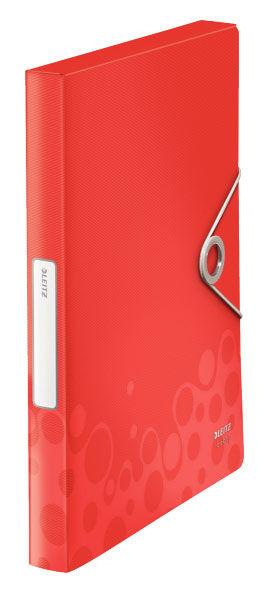 Папка на резинке Leitz Bebop 45680025 A4 пластик красный