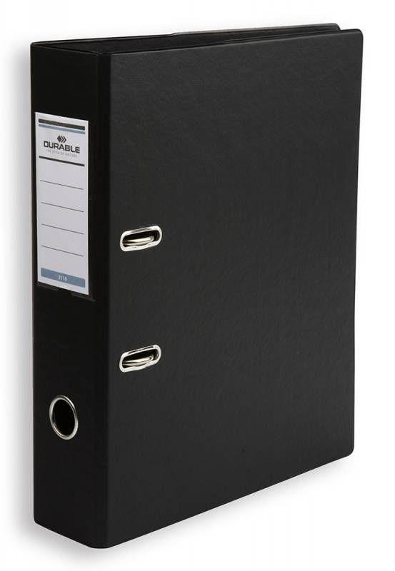 Папка-регистратор Durable 3110-01 A4 70мм ПВХ черный