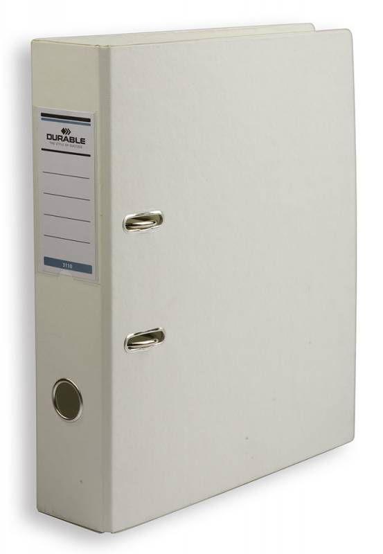 Папка-регистратор Durable 3110-02 A4 70мм ПВХ белый