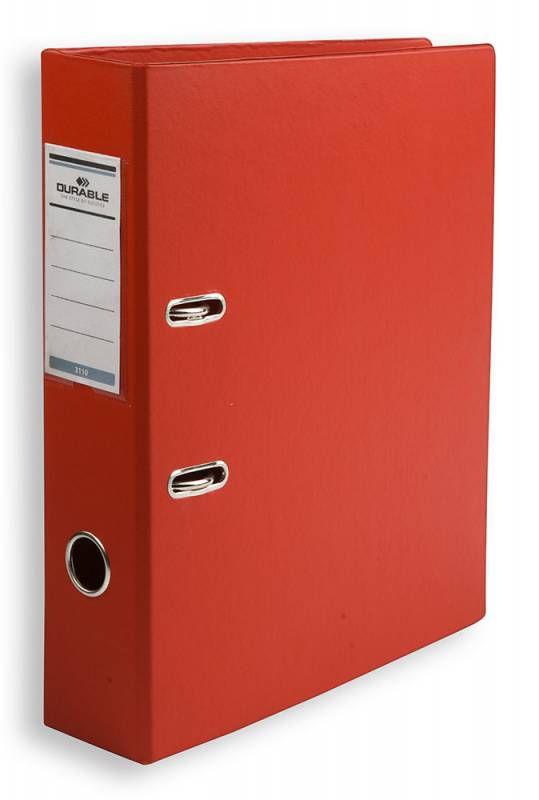 Папка-регистратор Durable 3110-03 A4 70мм ПВХ красный