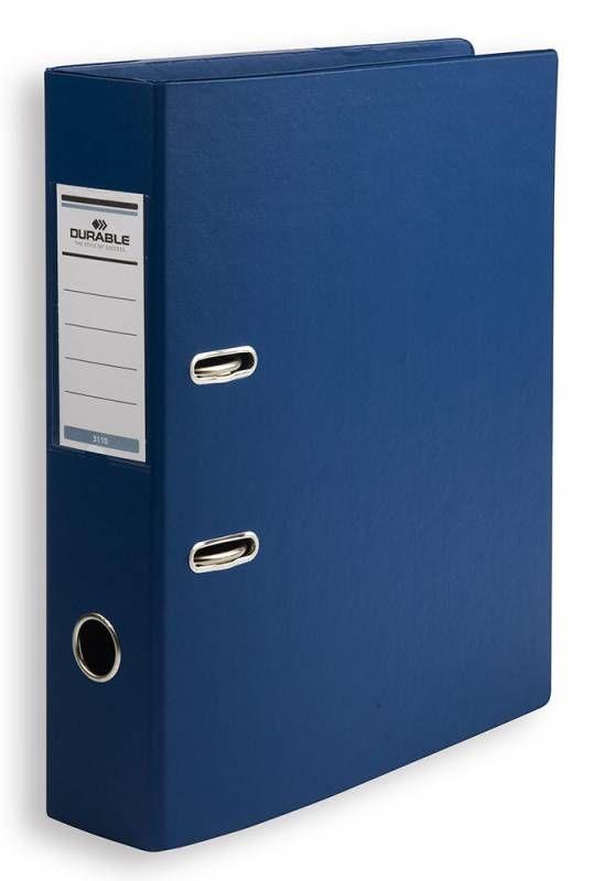 Папка-регистратор Durable 3110-07 A4 70мм ПВХ синий