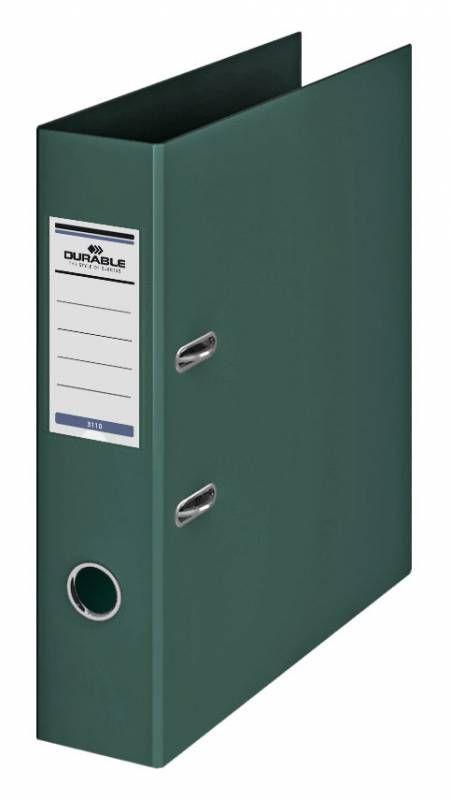 Папка-регистратор Durable 3110-32 A4 70мм ПВХ темно-зеленый